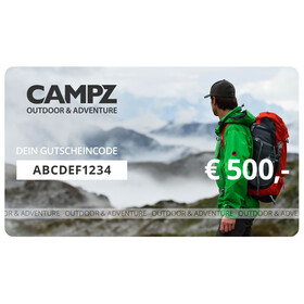 CAMPZ Geschenkgutschein 500 €